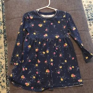 Toddler girls long sleeved dress